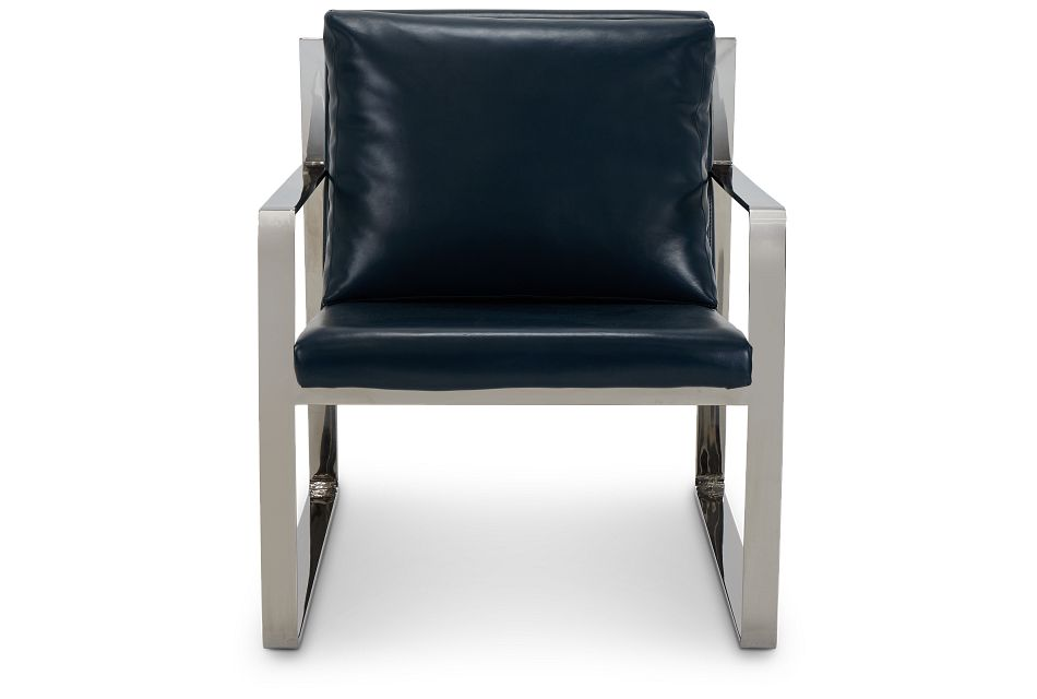 Roslin Blue Uph Accent Chair,  (3)
