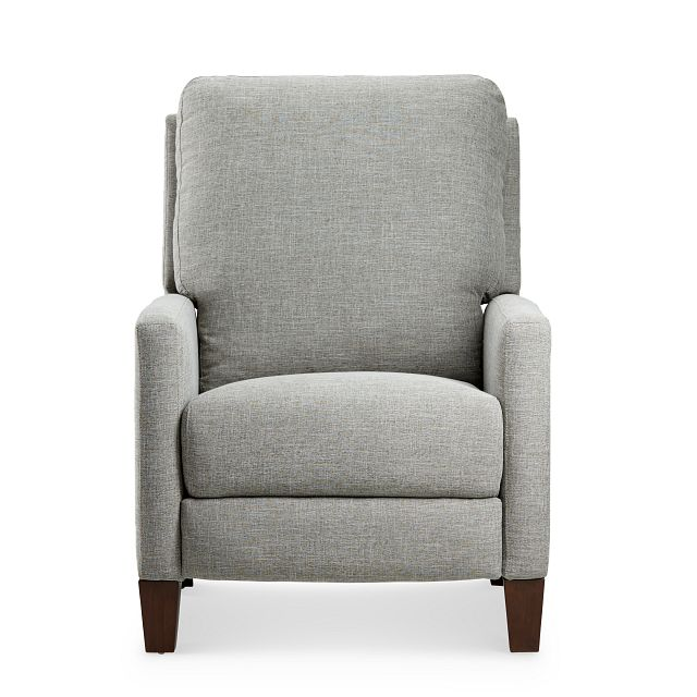 Griffin Pewter Fabric Push Back Recliner (3)