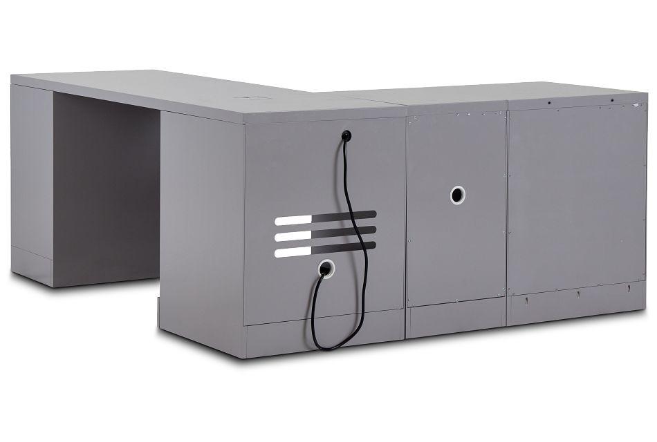 Newport Gray L Desk