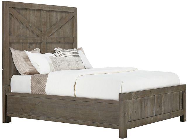 Taryn Gray Panel Bed (0)