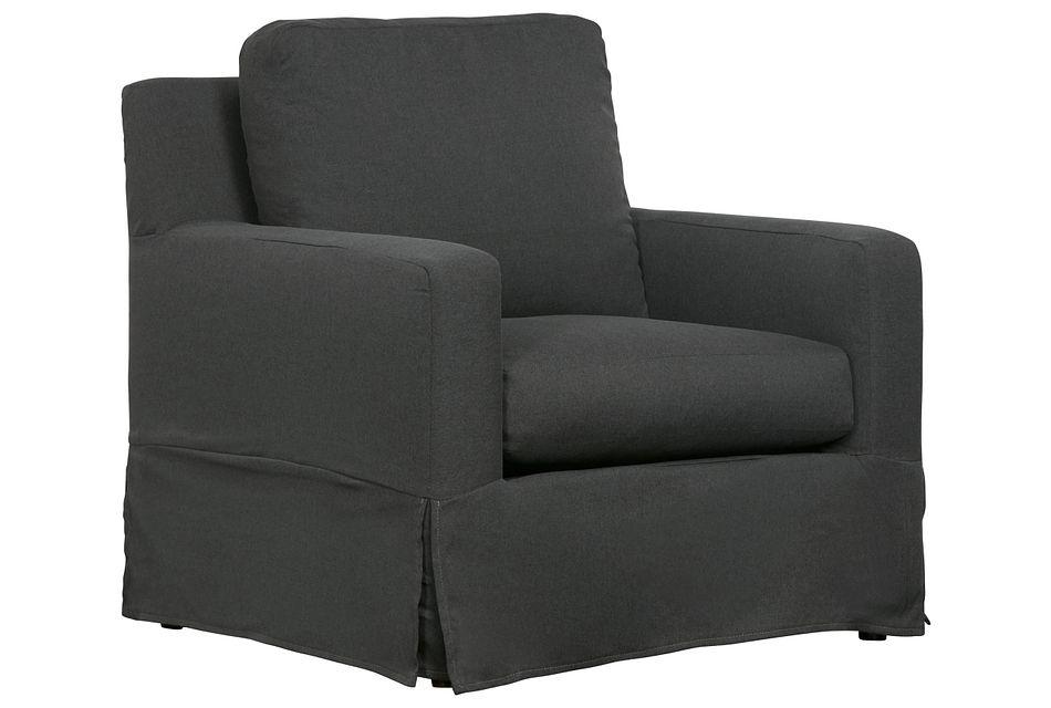 Bree Gray Fabric Chair