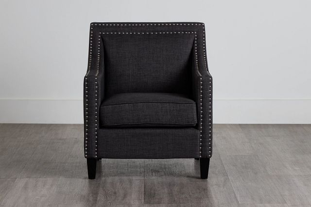 Erica Dark Gray Fabric Accent Chair (0)