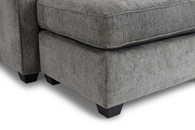 Bianca Gray Fabric Chaise Sectional
