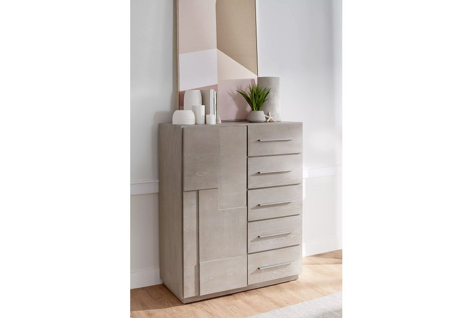 Destination Light Tone Door Dresser