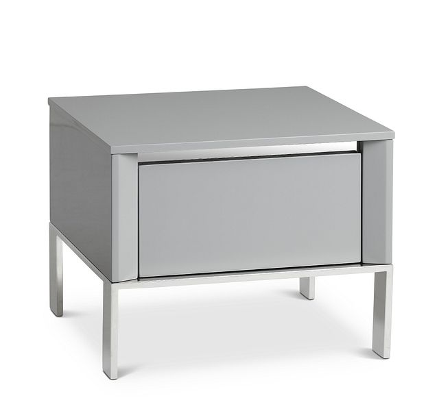 Vancouver Gray Square End Table (1)