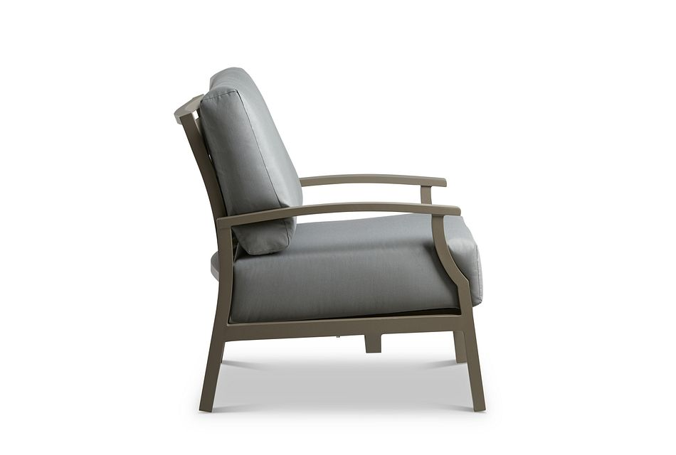 Raleigh Gray Rocking Chair