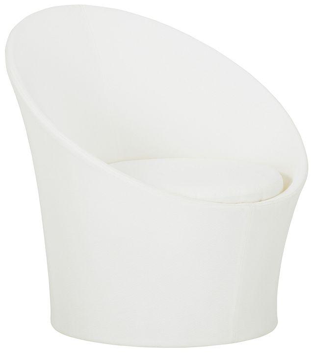 Ibiza White Curved Chair (0)