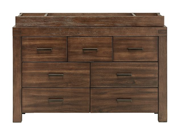 Piermont Mid Tone Dresser With Changing Top (2)