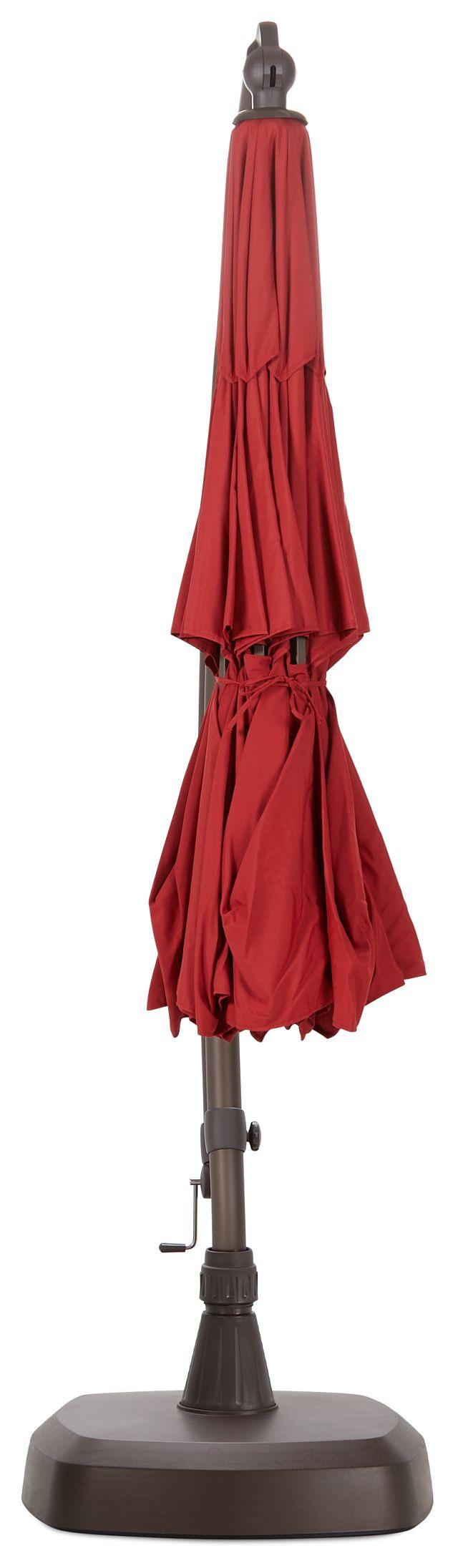 Cayman Red Cantilever Umbrella Set (0)