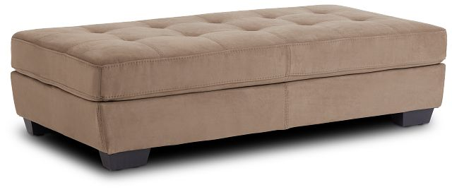 Perry Dark Taupe Micro Cocktail Ottoman (1)