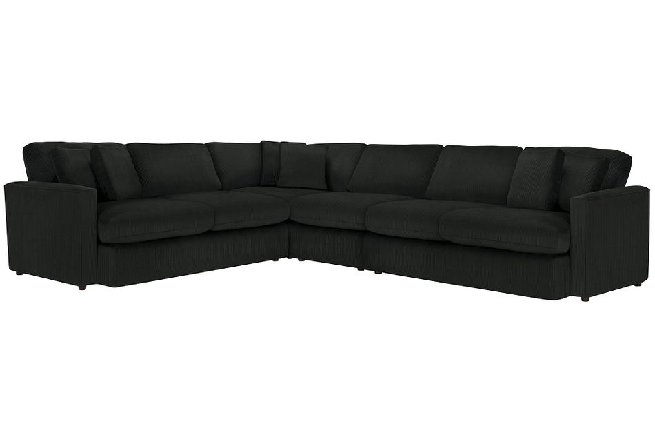 Tara2 Dark Gray  MICRO Large Two-Arm Sectional