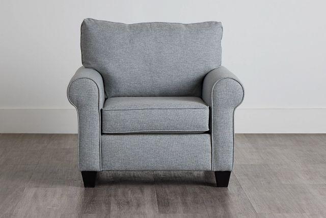 Meadow Light Blue Fabric Chair (0)