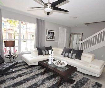Modern White Living Room Designers