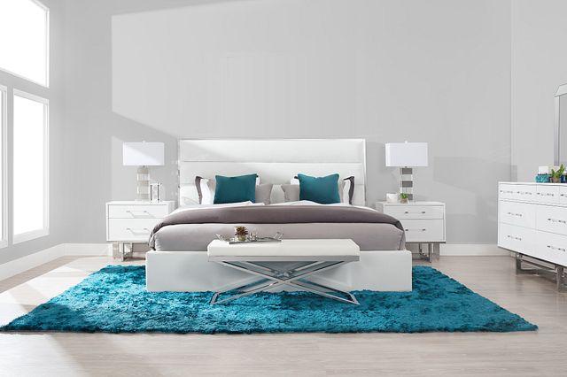 Cortina Champagne Uph Platform Bedroom (0)