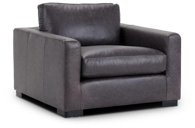 Bohan Black Leather Chair (1)
