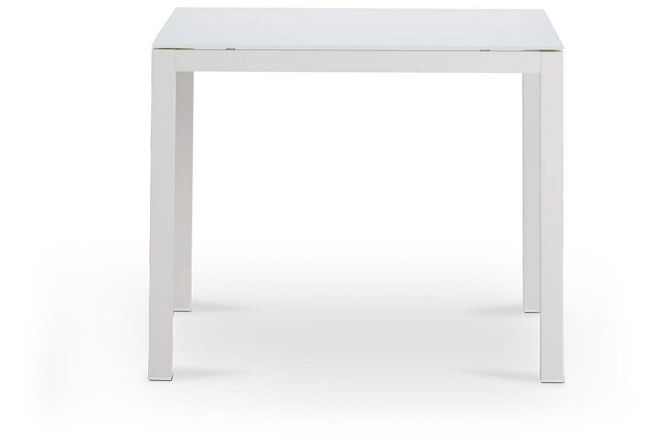 """Lisbon2 White 36"""" Square Table"""