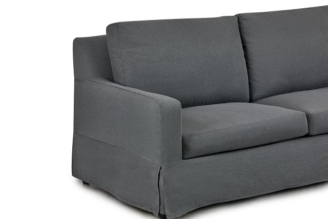 Bree Gray Fabric Sofa (1)