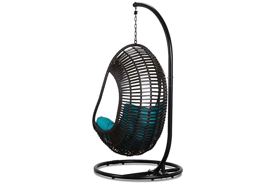 Verano Dark Teal Hanging Chair