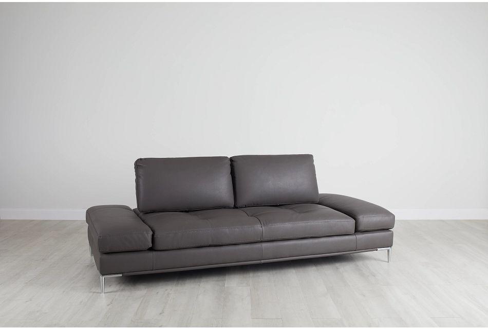 Camden Dark Gray Micro Sofa,  (0)