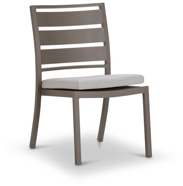Raleigh White Aluminum Side Chair (0)