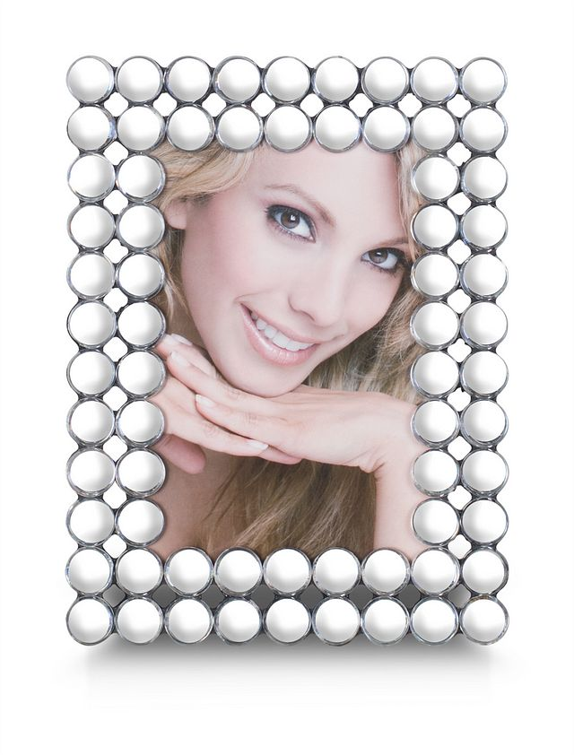 Khloe Silver Large Picture Frame (0)
