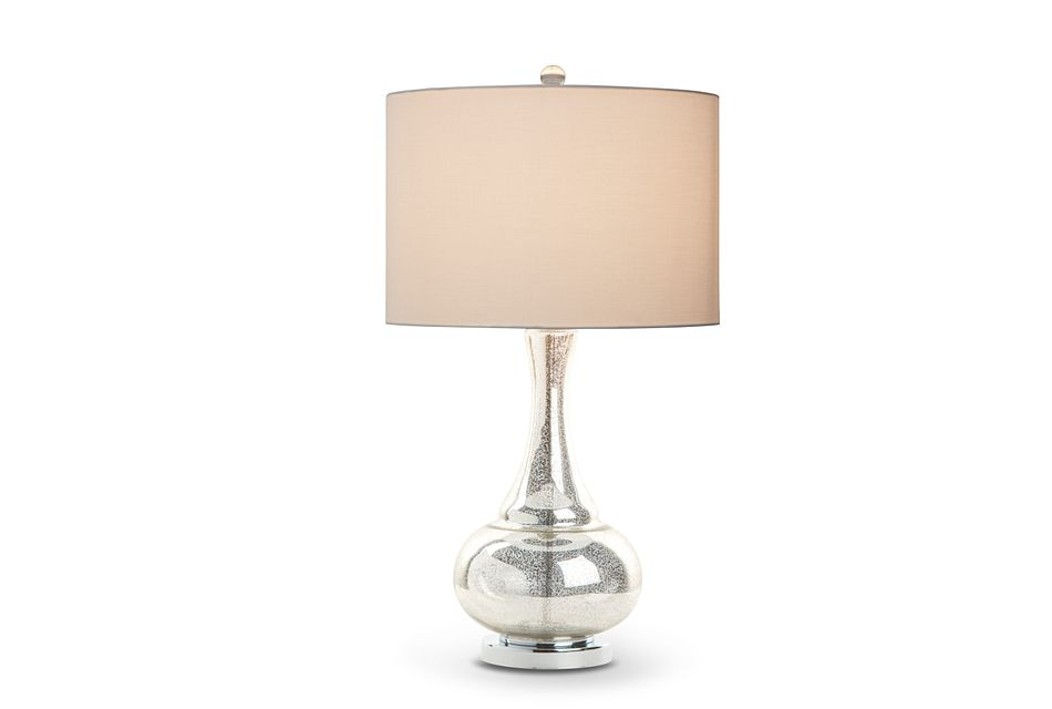 Aviana Silver Table Lamp
