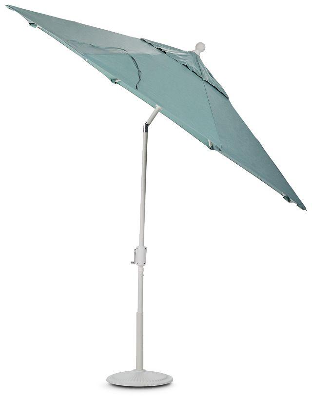 Capri Teal Umbrella Set (3)