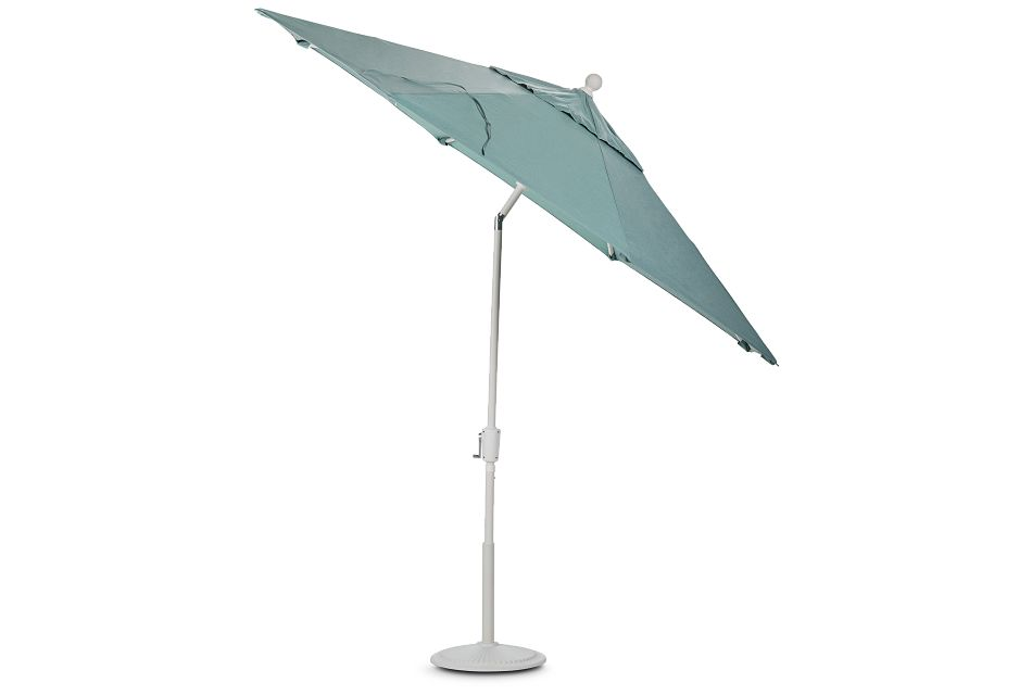 Capri Teal Umbrella Set