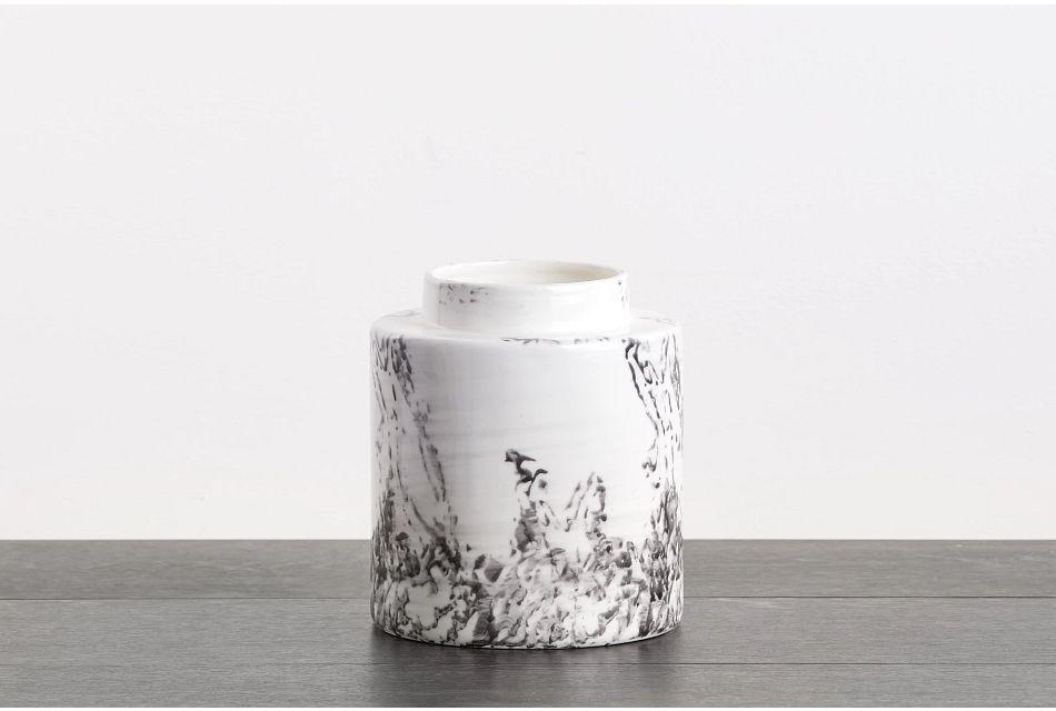 Grade White Small Vase