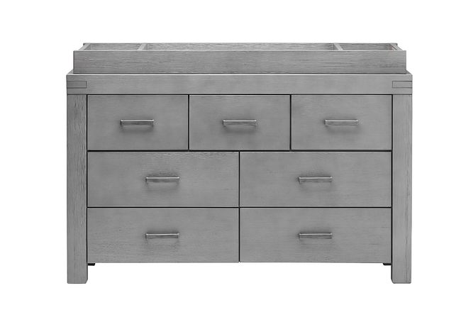 Piermont Gray Dresser With Changing Top