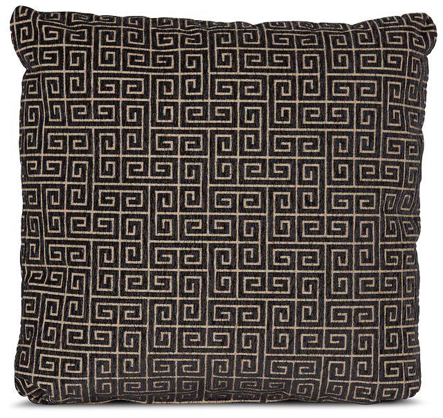 "Keys Black 18"" Square Accent Pillow (0)"