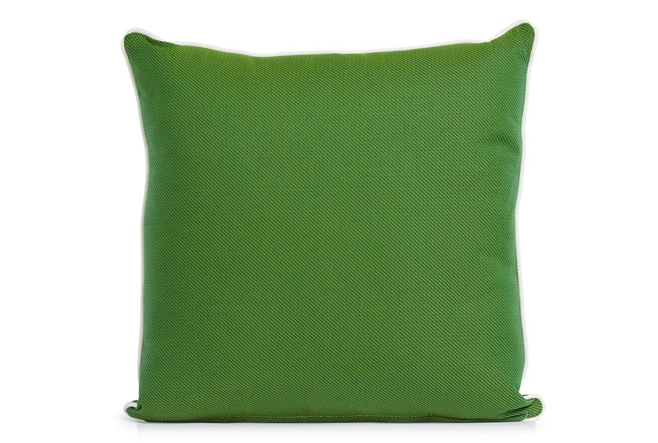"Forest Green 20"" Indoor/outdoor Square Accent Pillow"