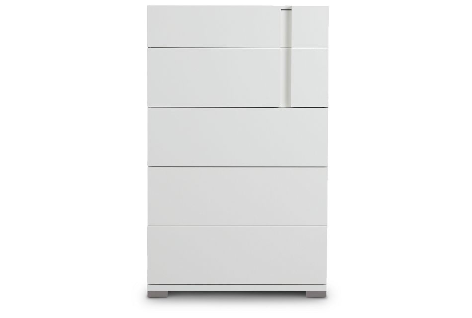 Santino White Drawer Chest