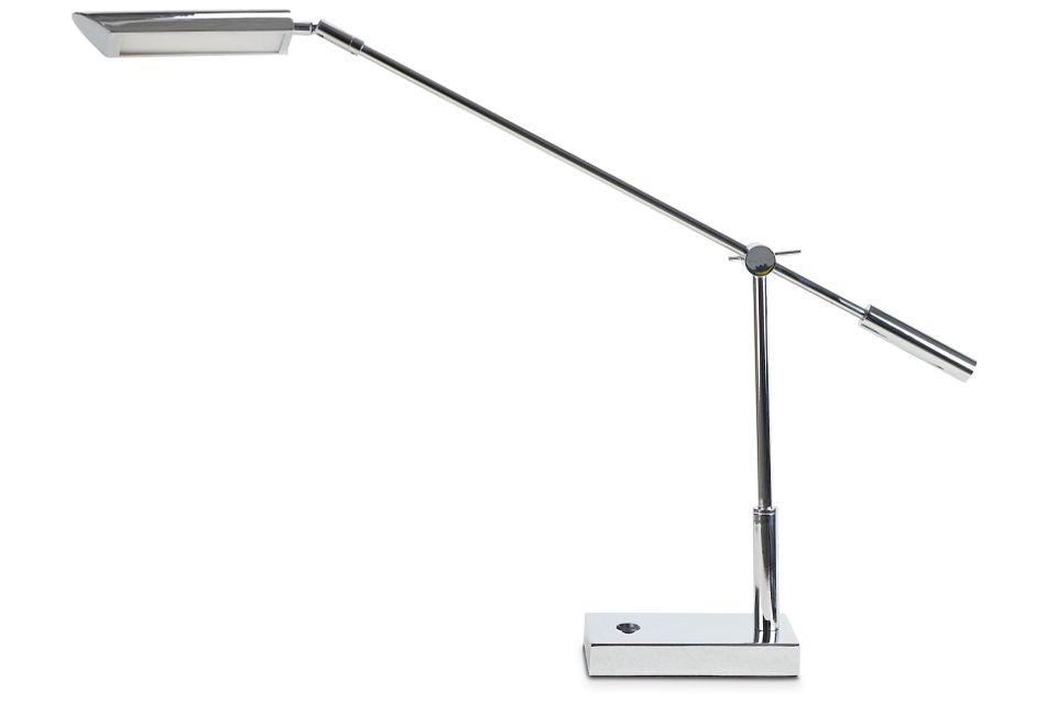 Nina Chrome Desk Lamp,  (1)