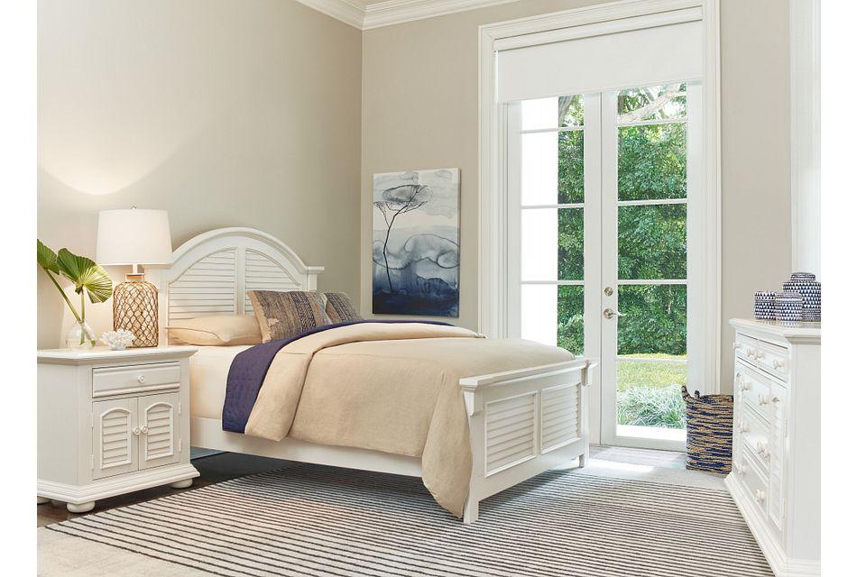 Quinn White  Panel Bedroom, Queen (2)