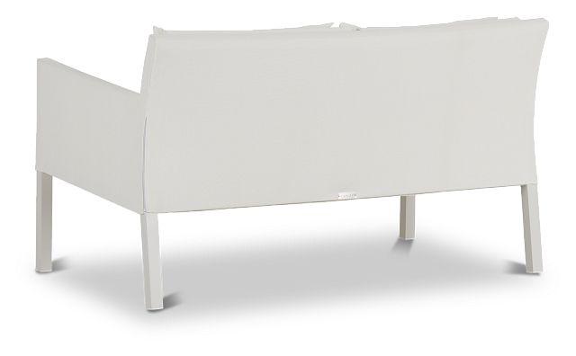 Lisbon White Sofa