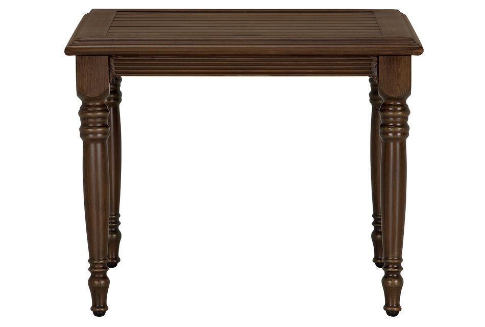 Tradewinds Dark Tone End Table