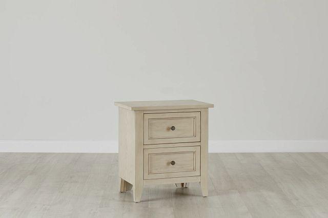 Dawson Ivory Drawer Nightstand