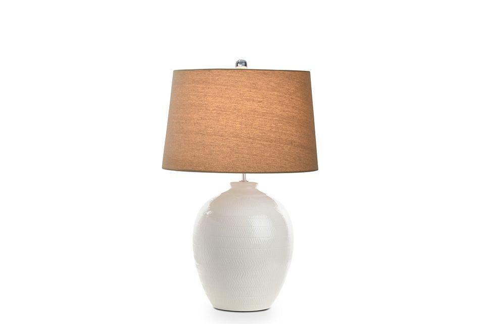 Casper Light Beige Table Lamp