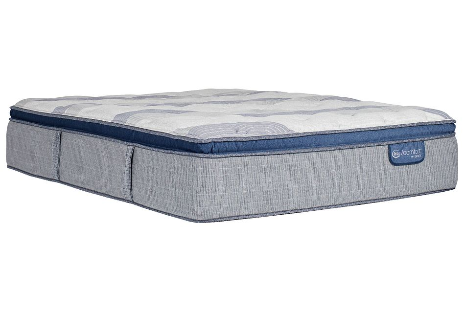Serta Icomfort Blue Fusion Xls 300 Plush Hybrid Pillow Top Mattress