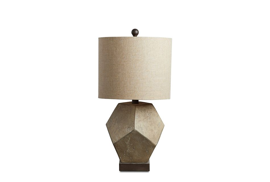 Wallace Gray Table Lamp