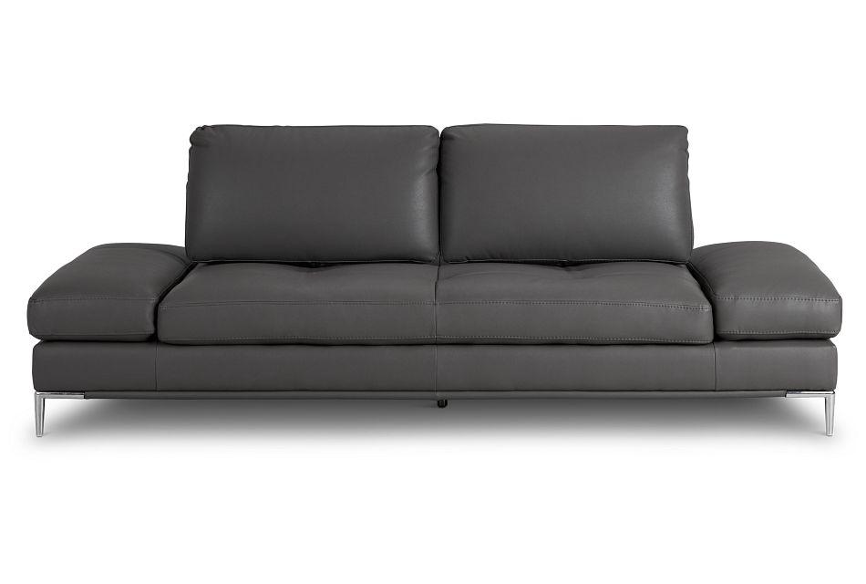 Camden Dark Gray Micro Sofa,  (1)