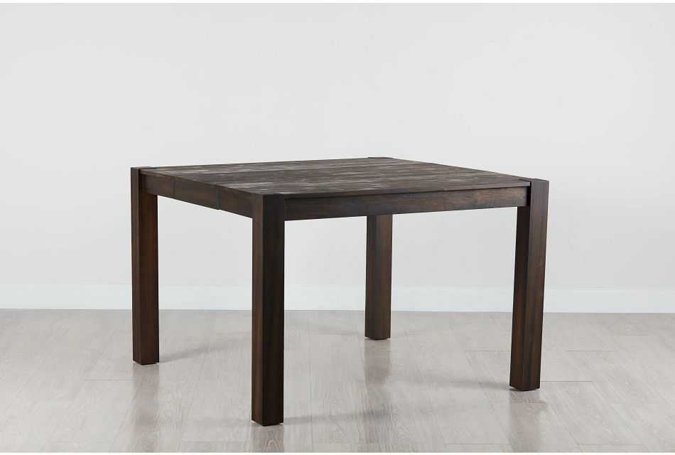 Holden Dark Tone Square High Dining Table,  (0)