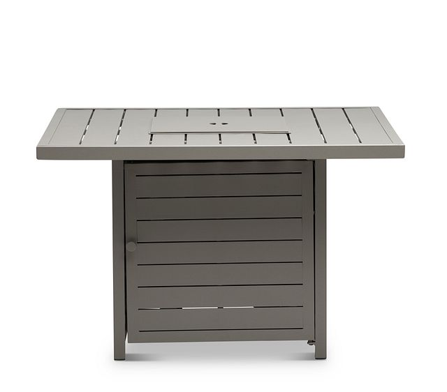 Raleigh Taupe Square Fire Pit (0)