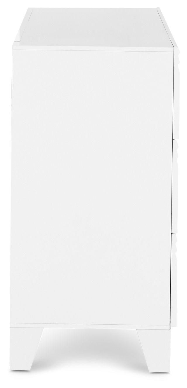 Midtown White Dresser (2)