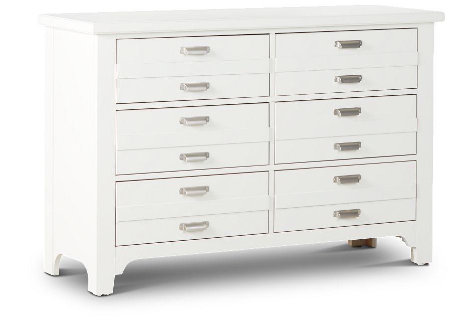 Bungalow Ivory 6-drawer Dresser