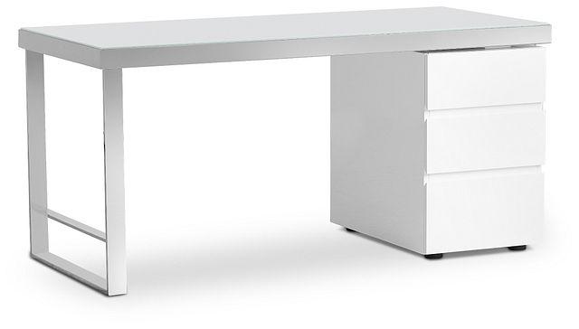 Miami White Desk (2)
