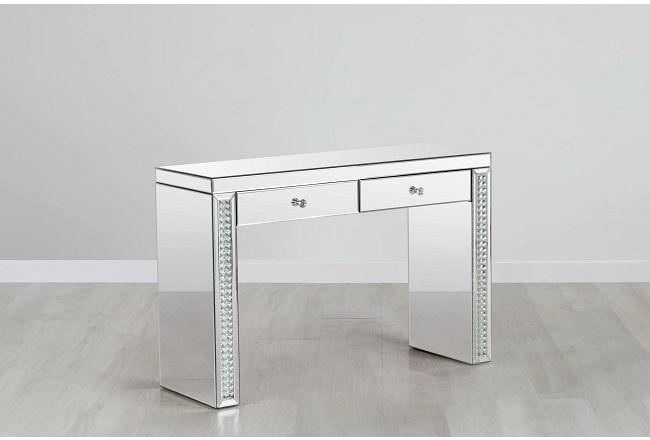 Kinsey2 Mirrored Desk