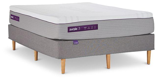 Purple Premier 3 Hybrid Mattress Set (1)