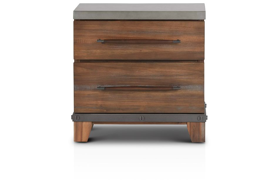 Forge Dark Tone Nightstand